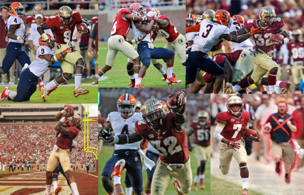 montage to the best team ever yes fsu seminoles 2013 national